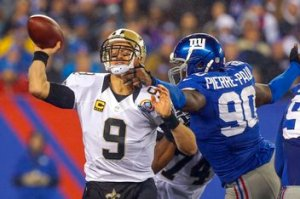 NFL: New Orleans Saints at New York Giants